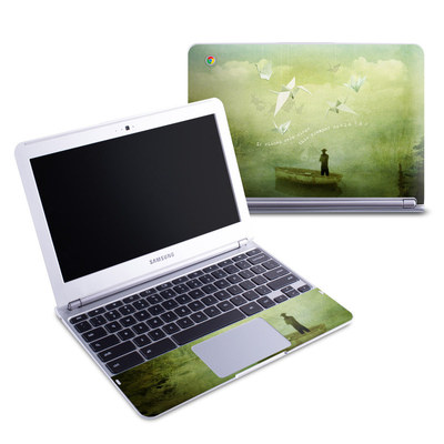 Samsung 11-6 Chromebook Skin - If Wishes