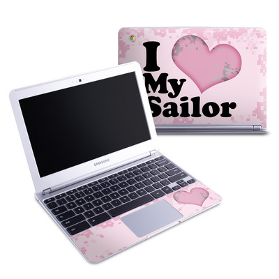 Samsung 11-6 Chromebook Skin - I Love My Sailor