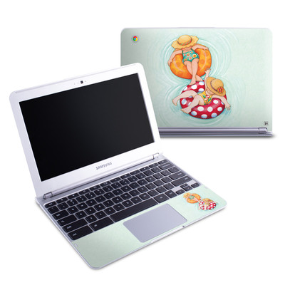 Samsung 11-6 Chromebook Skin - Inner Tube Girls