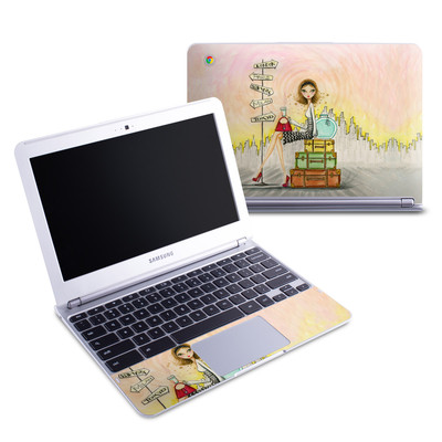 Samsung 11-6 Chromebook Skin - The Jet Setter