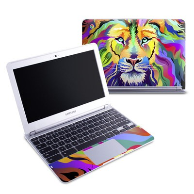 Samsung 11-6 Chromebook Skin - King of Technicolor
