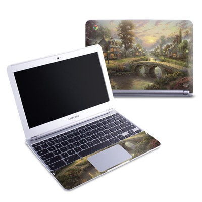 Samsung 11-6 Chromebook Skin - Sunset On Lamplight Lane