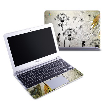 Samsung 11-6 Chromebook Skin - Little Dandelion