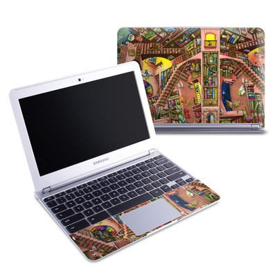 Samsung 11-6 Chromebook Skin - Library Magic