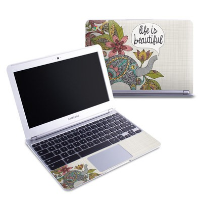 Samsung 11-6 Chromebook Skin - Life is Beautiful