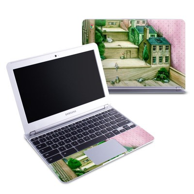Samsung 11-6 Chromebook Skin - Living Stairs