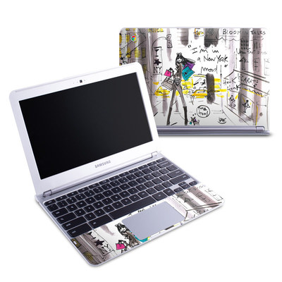 Samsung 11-6 Chromebook Skin - My New York Mood