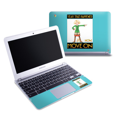 Samsung 11-6 Chromebook Skin - Move On