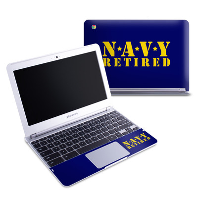 Samsung 11-6 Chromebook Skin - Navy Retired