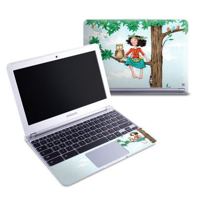 Samsung 11-6 Chromebook Skin - Never Alone