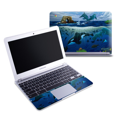 Samsung 11-6 Chromebook Skin - Oceans For Youth