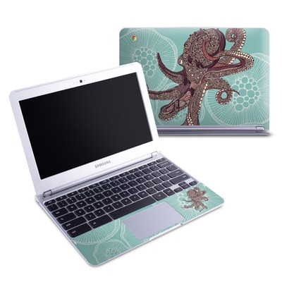 Samsung 11-6 Chromebook Skin - Octopus Bloom