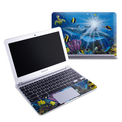 Samsung 11-6 Chromebook Skin - Ocean Friends