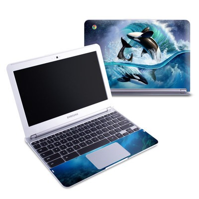 Samsung 11-6 Chromebook Skin - Orca Wave