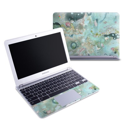 Samsung 11-6 Chromebook Skin - Organic In Blue