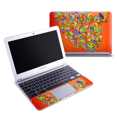 Samsung 11-6 Chromebook Skin - Orange Squirt