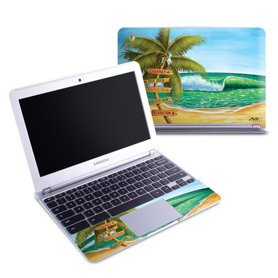 Samsung 11-6 Chromebook Skin - Palm Signs