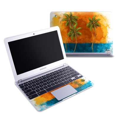 Samsung 11-6 Chromebook Skin - Palm Trio