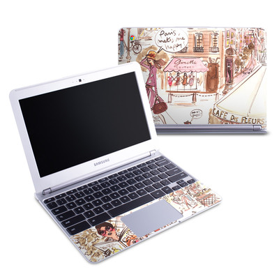 Samsung 11-6 Chromebook Skin - Paris Makes Me Happy