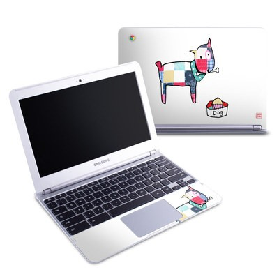 Samsung 11-6 Chromebook Skin - Patch Dog