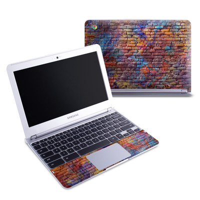 Samsung 11-6 Chromebook Skin - Painted Brick