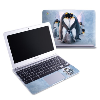 Samsung 11-6 Chromebook Skin - Penguin Heart
