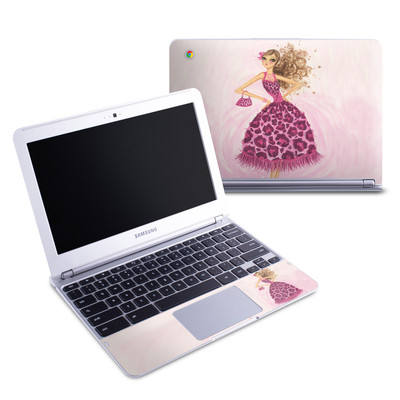 Samsung 11-6 Chromebook Skin - Perfectly Pink