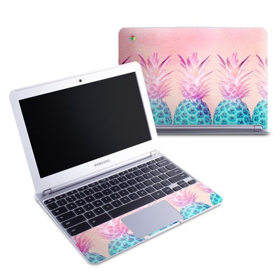 Samsung 11-6 Chromebook Skin - Pineapple Farm