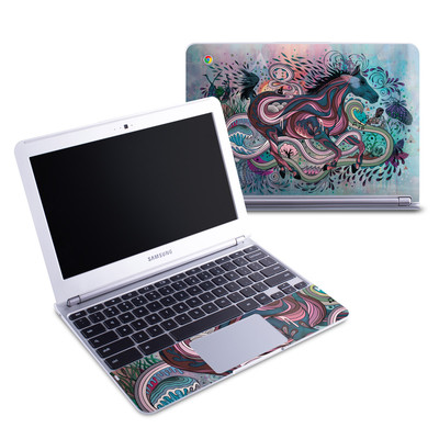 Samsung 11-6 Chromebook Skin - Poetry in Motion