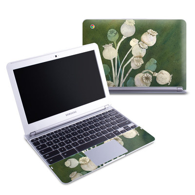 Samsung 11-6 Chromebook Skin - Poppy Pods