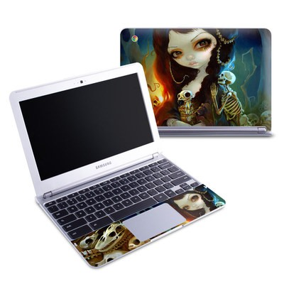 Samsung 11-6 Chromebook Skin - Princess of Bones
