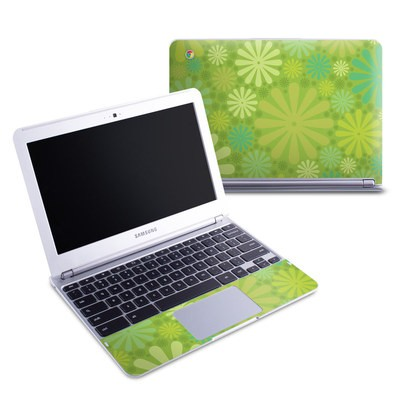 Samsung 11-6 Chromebook Skin - Lime Punch