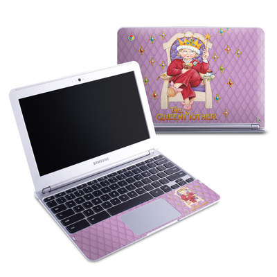 Samsung 11-6 Chromebook Skin - Queen Mother