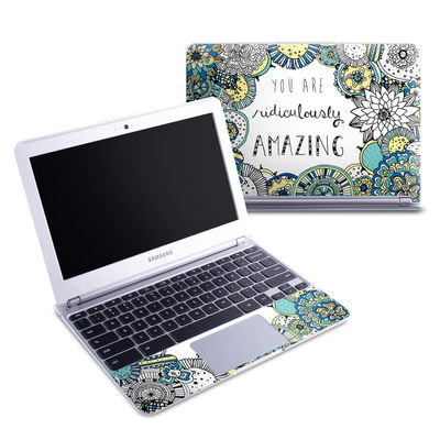 Samsung 11-6 Chromebook Skin - You Are Ridic