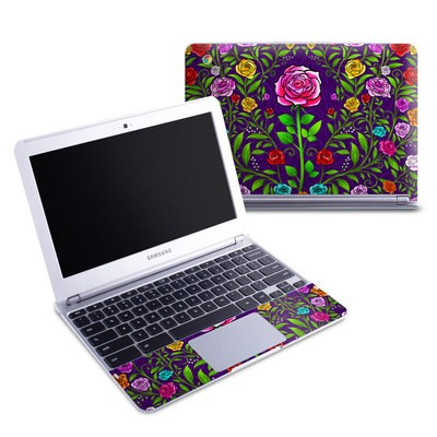 Samsung 11-6 Chromebook Skin - Rose Burst
