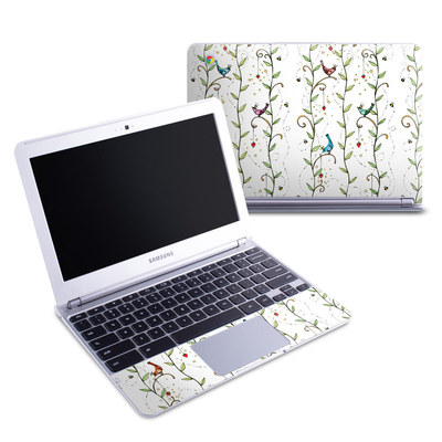 Samsung 11-6 Chromebook Skin - Royal Birds
