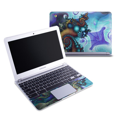 Samsung 11-6 Chromebook Skin - Sea Jewel
