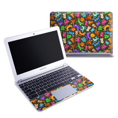Samsung 11-6 Chromebook Skin - Sew Catty