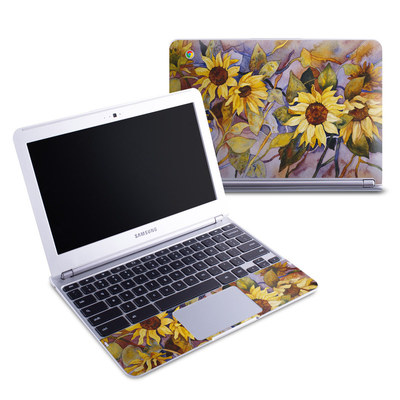 Samsung 11-6 Chromebook Skin - Sunflower