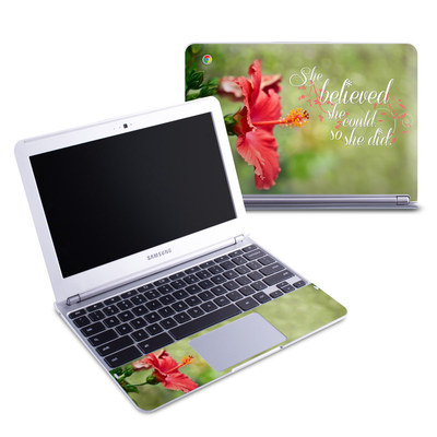 Samsung 11-6 Chromebook Skin - She Believed