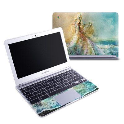 Samsung 11-6 Chromebook Skin - The Shell Maiden