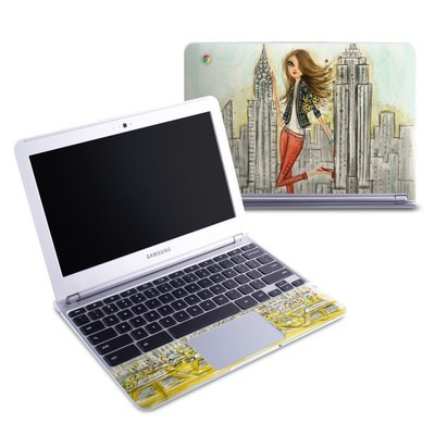 Samsung 11-6 Chromebook Skin - The Sights New York