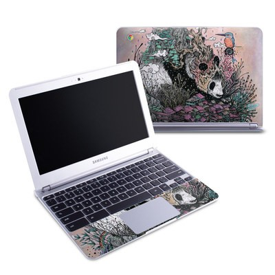 Samsung 11-6 Chromebook Skin - Sleeping Giant