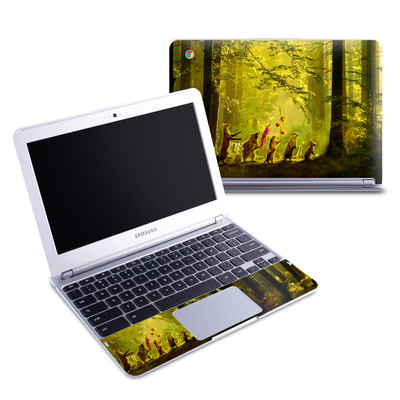 Samsung 11-6 Chromebook Skin - Secret Parade