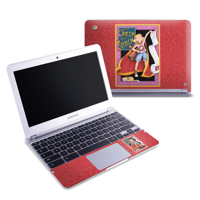 Samsung 11-6 Chromebook Skin - Queen Has Spoken