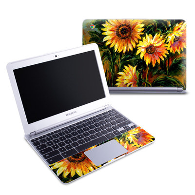 Samsung 11-6 Chromebook Skin - Sunflower Sunshine