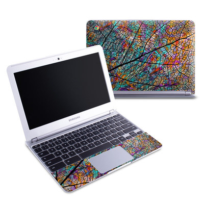 Samsung 11-6 Chromebook Skin - Stained Aspen