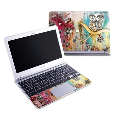 Samsung 11-6 Chromebook Skin - Surreal Owl