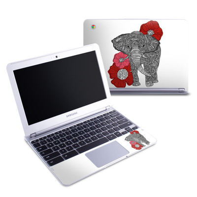 Samsung 11-6 Chromebook Skin - The Elephant