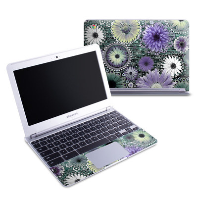 Samsung 11-6 Chromebook Skin - Tidal Bloom